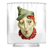 Who Me? Shower Curtain by ReInVintaged