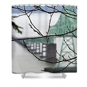 Who's The Architect? Shower Curtain