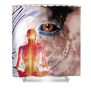 Whose I Is Eckharts Eye Shower Curtain