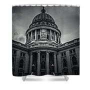 Wi Capitol Shower Curtain