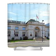 Wichita Carnegie Library Shower Curtain