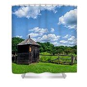 Wick Farm Shower Curtain