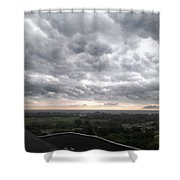 Wicked Clouds Shower Curtain