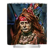 Wicked Couple Shower Curtain