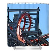 Wicked Cyclone Stall Shower Curtain