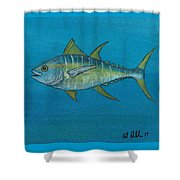 Wicked Tuna  Shower Curtain