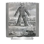Wicker Man Shower Curtain