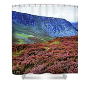 Wicklow Heather Carpet Shower Curtain