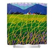 Wicklow Meadow Ireland Shower Curtain