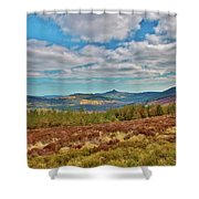 Wicklow Mountains  Shower Curtain
