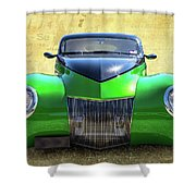 Wide Eyes Shower Curtain
