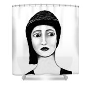 Wide Eyes Surprise Shower Curtain