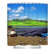 Wide View Shower Curtain