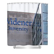 Widener University - Metropoliton Hall Shower Curtain