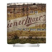 Wiener Maerzen Beer Sign Victor Co Img_8703 Shower Curtain