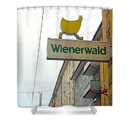 Wienerwald In Salzburg Shower Curtain