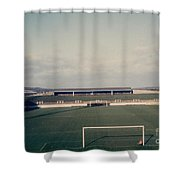 Wigan Athletic - Springfield Park - The Grassy Bank 1 - 1969 Shower Curtain