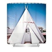 Wigwam Room #2 Shower Curtain
