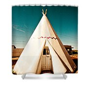 Wigwam Room #3 Shower Curtain