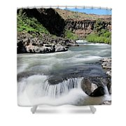 Wild And Scenic White River Shower Curtain