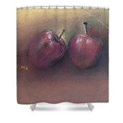 Wild Apples Shower Curtain