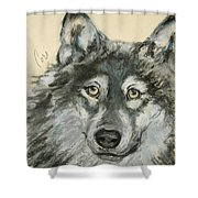 Wild At Heart Shower Curtain