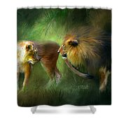 Wild Attraction Shower Curtain
