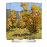 Wild Autumn Shower Curtain