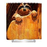 Wild Bandit  Shower Curtain