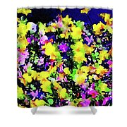 Wild Blossoms Shower Curtain