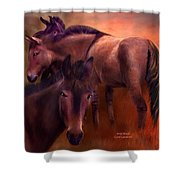Wild Breed Shower Curtain