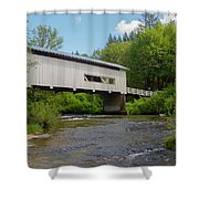 Wild Cat Bridge No. 2 Shower Curtain