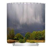 Wild Clouds Shower Curtain