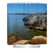 Wild Coast Cyprus Shower Curtain