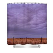 Wild Country Sky Shower Curtain