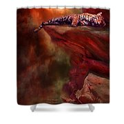 Wild Dreamer Shower Curtain