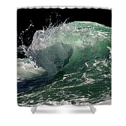 Wild Edge Shower Curtain
