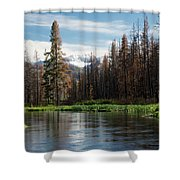 Wild Fire Aftermath  Shower Curtain