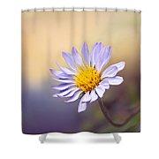 Lone Flower Shower Curtain
