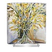 Wild Flowers #3 Shower Curtain
