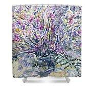 Wild Flowers #4 Shower Curtain