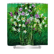 Wild Flowers 450150 Shower Curtain
