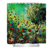 Wild Flowers 670130 Shower Curtain