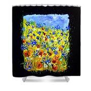 Wild Flowers 677130 Shower Curtain