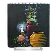 Wild Flowers And Things Shower Curtain