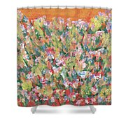Blooming With Joy Shower Curtain
