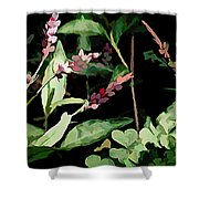 Wild Flowers In Pastel Shower Curtain
