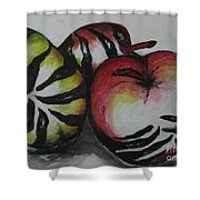 Wild Fruits  Shower Curtain