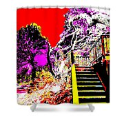 Wild Goddess At Kashi Shower Curtain by Eikoni Images