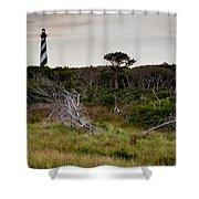 Wild Hatteras Shower Curtain